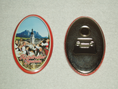 Flaschenöffner - Magnet
