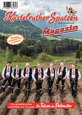 Kastelruther Spatzen Magazin  Abo 2018