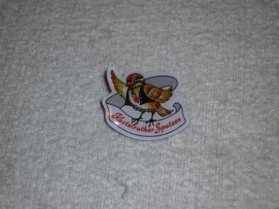 Pin-Anstecker Spatz