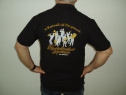 Polo Shirt   in schwarz