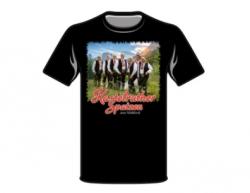 T-Shirt schwarz -Älter werden wir später-