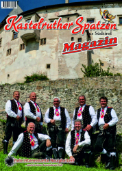 Kastelruther Spatzen Magazin  Abo 2021