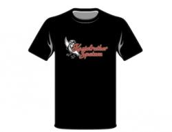 T-Shirt schwarz -Die Tränen der Dolomiten-