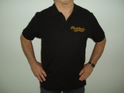 Polo Shirt   in schwarz
